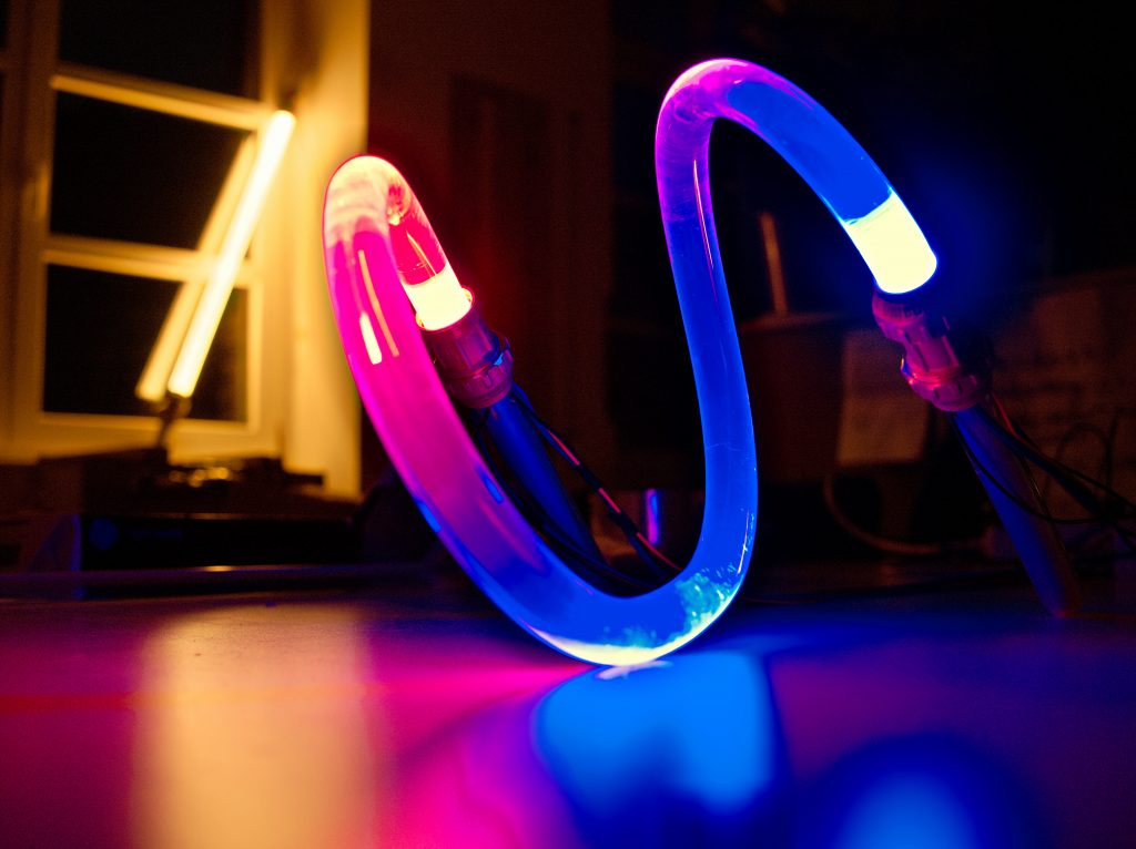 Nulight - Lichtlinie - zweifarbiger Lichtverlauf