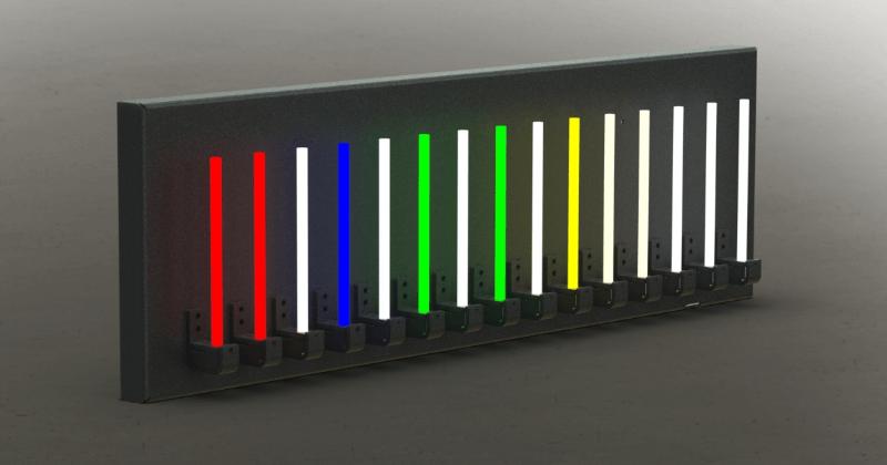 NuNeon - Farbreihe mit verschiedenen Lichtfarben - LED-Neon-Lichtschild