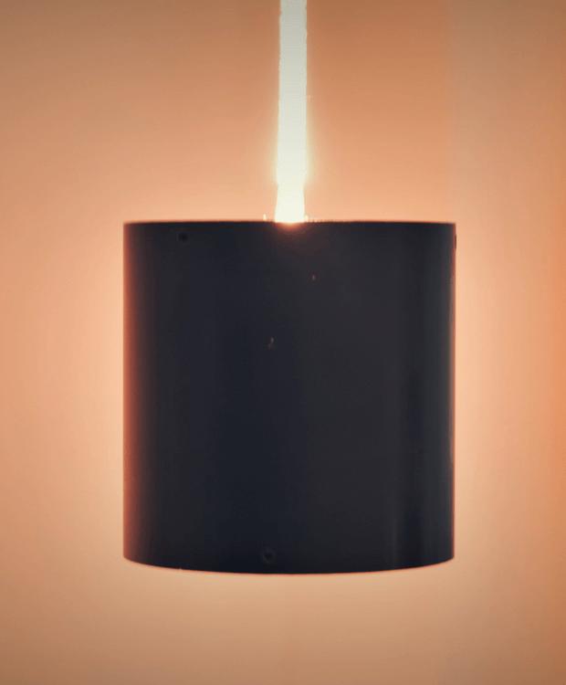 Eine Cylinder Lamp von Nulight